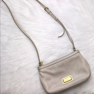 MARC BY MARC JACOBS SMALL SHOULDER PURSE GRAY